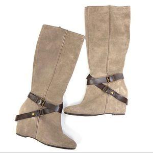 Franco Sarto | Maven Genuine Leather Wedge Boots